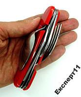 Нож походный 6 в 1 (нож - вилка - ложка - штопор)