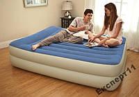Двуспальная кровать Intex 67714 с электро-насосом