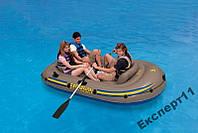Надувная лодка Intex 68319. Excursion 262х157х42