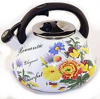 Музыкальный чайник  MAESTRO 3.5 литра ЭМАЛЬ