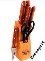 Набор кухонных ножей из 7 штук  Bergner BG0190