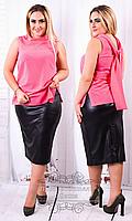 Женская нарядная блуза, батал ( р. 50-56  )
