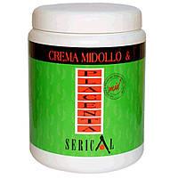 Крем-маска для волос с вытяжкой из бамбука и плаценты пшеницы - Pettenon Serical 1000мл. (Оригинал)