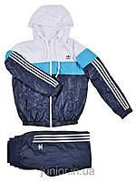 Спортивный костюм на мальчика, плащевка, размер 34
