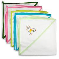 Детское полотенце-уголок для купания ПаМаЯ