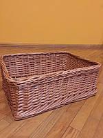 Лоток плетеный из круглой лозы, фото 1