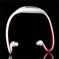 Беспроводные наушники. Bluetooth наушники для спорта и отдыха! Белые