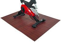 Коврик защитный под тренажер FINNLO Puzzle Mat Wood Style 99998