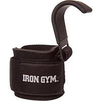 Крюки для тяги на запястья INTER ATLETIKA Iron Gym Iron Grip