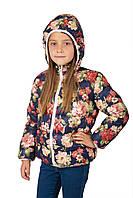 Куртка KENZO для девочек детская одежда в цветочек 1-7 лет