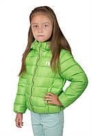 Новые куртки для девочек детская одежда весна-осень от 1 до 7 лет