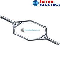 Треп-гриф полированный INTER ATLETIKA TK-229 O50 мм 146 см