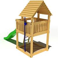 Деревянный детский игровой домик KIDIGO Чудесный