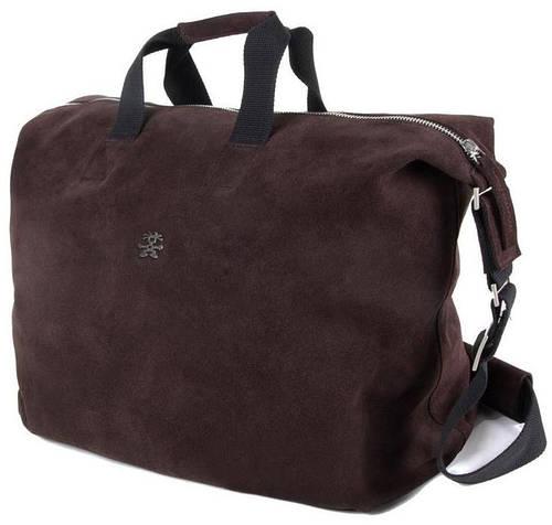 """Стильная сумка для ноутбука 15"""" Crumpler Bavarian Boomer Weekender BABW-002 коричневая"""