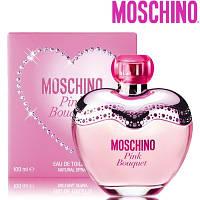 Moschino Pink Bouquet edt 100ml lady. Туалетная вода Оригинал