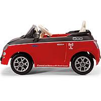 Электромобиль PEG-PEREGO Fiat 500 Red с пультом управления