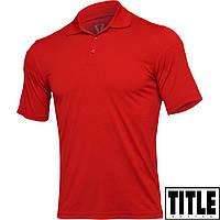 Мужская футболка-поло TITLE Boxing Strive Men's Aerovent Polo