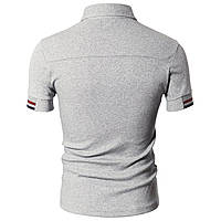 Футболка-поло мужская Doublju Mens Casual Short Sleeve PoloShirt