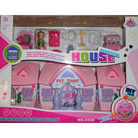 Домик чемоданчик для куколки