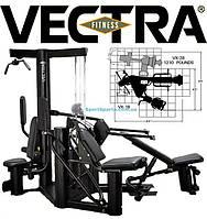 Силовой комплекс VECTRA FITNESS VX18 3-х сторонний