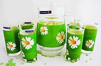 """Набор для напитков LUMINARC """"Paquerette Green"""" G1982 (7 предметов)"""