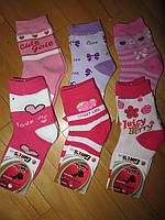 Детские махровые носки для девочек оптом Armando 19-22, 23-26, 27-30, 31-34, 35-38 рр.