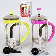 Заварочный чайник Bonadi 535-C12 Стекло металл