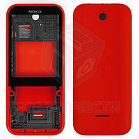 Корпус для мобильного телефона Nokia 225 Dual Sim, красный