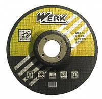 Круг зачистной Werk по металлу 115х6.3х22.23 мм (WE201117)