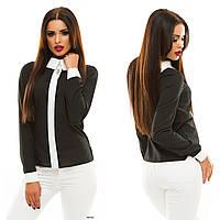 Блузка женская с длинным рукавом 055 Жан