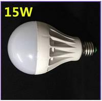 LED лампочка эконом E27 15W вместо обычной лампы