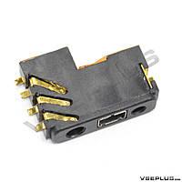 Разъем на зарядку Nokia 1200 / 1202 / 1208 / 1650 / 2332 classic / 2630 / 2760 / 5000