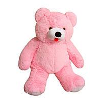 Мягкая игрушка Медведь Топтыгин большой розовый