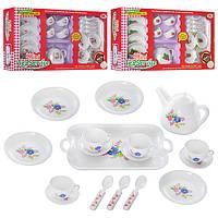 """Набор детской посуды """"Чайный сервиз"""" K 6988-1-2-3, на 4 персоны"""