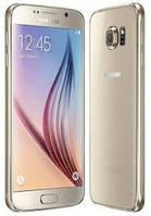 Смартфон Samsung G920 Galaxy S6 64GB Duos Platinum Gold, фото 1