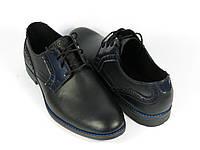 Классические мужские туфли на шнурках
