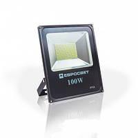 Прожектор светодиодный LED 100 Вт (W) ES-100-01 6400K 5500Lm SMD
