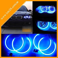 Ангельские Глазки CCFL 90мм синие (ВАЗ, BMW, Audi, Opel)