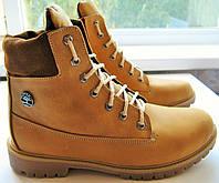 Timberland мужские зимние стильные качественные ботинки