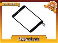 Тачскрин  iPad Mini 2 A1490 black с кнопкой и шлей
