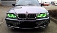 Ангельские Глазки CCFL 75мм, зелёные (Audi, BMW, ВАЗ, Mazda)