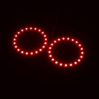 Ангельские Глазки LED 70мм, красные (ВАЗ BMW VW Audi)