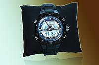 Наручные часы Skmei 1016 (black)+подарок