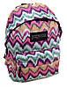 Чудесный городской рюкзак для девушек 28 л. Jansport 3334-9024-2 3d разноцвет/орнамент