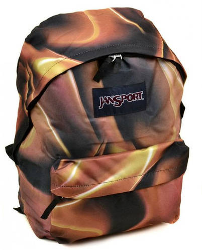Городской облегченный рюкзак 28 л. Jansport 3334-024-4 3d коричневый