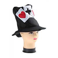 Шляпа Покер карнавальная взрослая