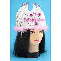 Шляпа Birthday Рrincess карнавальная взрослая