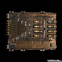 Разъем на SIM карту Samsung P5100 Galaxy Tab 2 10.1 / P6800 Galaxy Tab 7.7 / P7500 Galaxy Tab 10.1