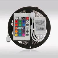 Лента светодиодная RGB 3528 IP33 +пульт+контроллер