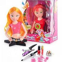 Кукла-манекен Winx 813 голова для причесок и макияжа